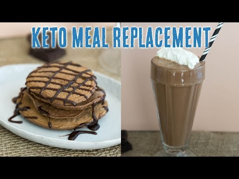 Keto Meal Replacement Mix + Pancake Recipe