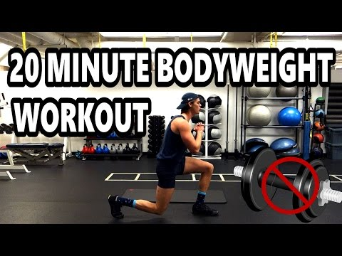 Full 20 Minute Bodyweight Strength Workout [FOR BEGINNERS!]