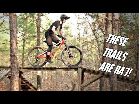 AWESOME private freeride MTB trails in Georgia!
