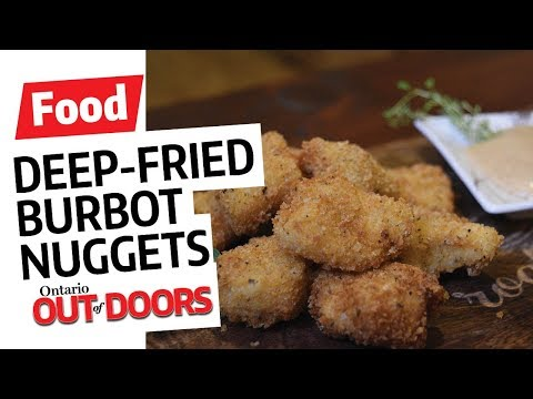 Deep-Fried Burbot Nuggets with Spicy Mustard Dipping Sauce