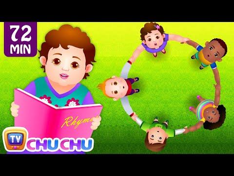 Ringa Ringa Roses (Ring Around the Rosie) & Many More Nursery Rhymes & Songs for Children   ChuChuTV