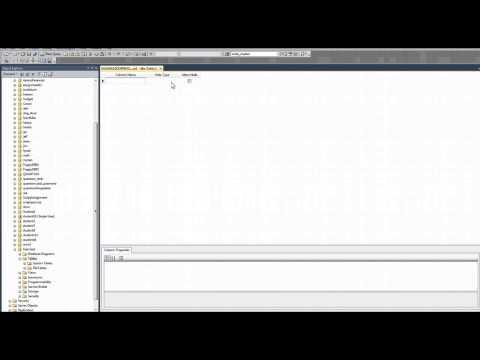 Database Design SQL Server MGMT GUI Tools