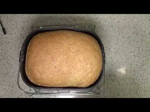 Panasonic SD-2511W Multi-Function Bread Maker   How to Make Home Made 50/50 Wholemeal Loaf