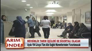 Mevsİmlİk Tarim İŞÇİlerİ De Sİgortali Olacak 09.02.2012