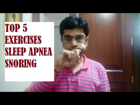 Top 5 Exercises for Sleep Apnea and Snoring