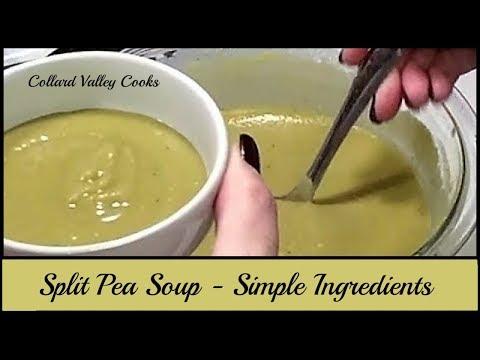 CVC's Split Pea Soup Recipe, Old Fashioned Split Pea Soup from Scratch Recipe