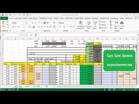 Separate values in a list to do Calculations in Excel