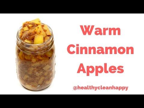 Vegan Recipe: How to Make Warm Cinnamon Apples