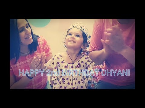 Dhyani 2nd Birthday Vlog | India 2018