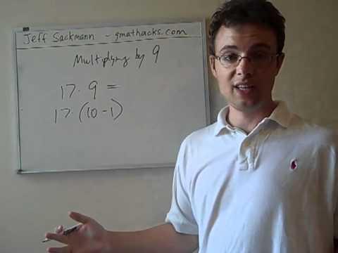 Mental Math: Multiplying by 9