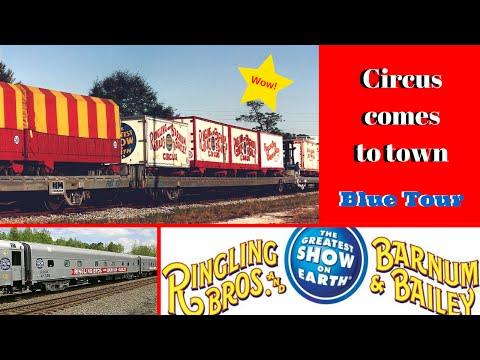RBBB Circus Train, Blue Unit