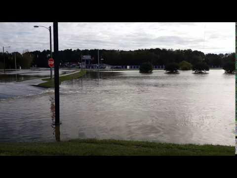 Hurrican Matthew - Rocky Mount, NC - Zebulon Rd