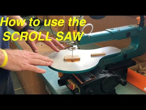 How to use the scroll saw