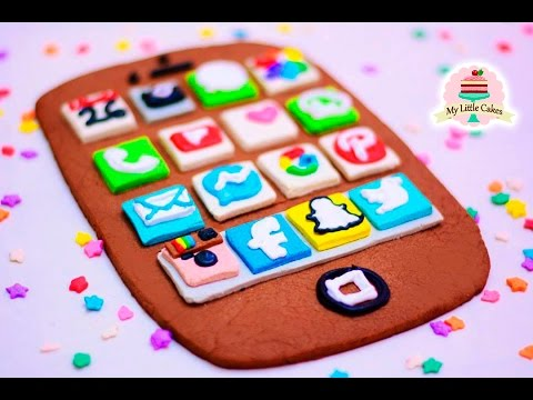GIANT IPHONE COOKIE | MY LITTLE CAKES