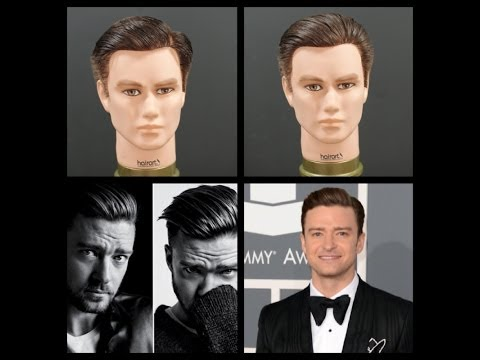 Justin Timberlake Haircut & Hairstyle Tutorial | TheSalonGuy
