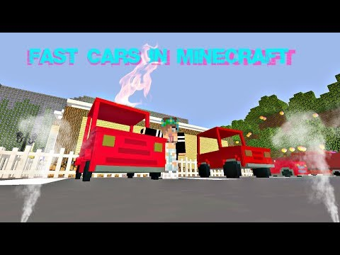 DRIVING A CAR IN MINECRAFT? Personal Cars mod