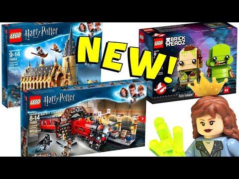2018 LEGO Harry Potter Box Art & BrickHeadz Thoughts