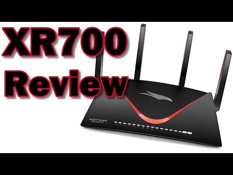 REVIEW: NETGEAR Nighthawk Pro Gaming XR700 WiFi Gaming Router