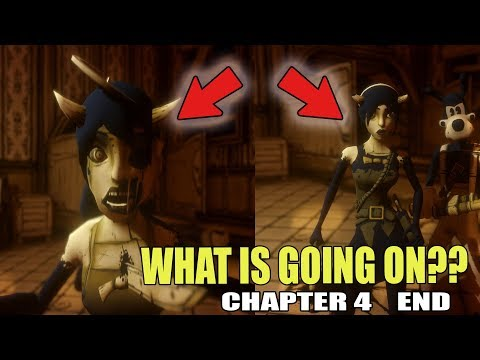 EVERYTHING IS CHANGING!! | Bendy and the Ink Machine Chapter 4 END Gameplay