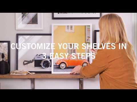 How to Customize Your Shelves in 3 Easy Steps