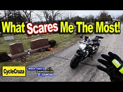 What SCARES Me the Most About Riding Motorcycle on Street | MotoVlog