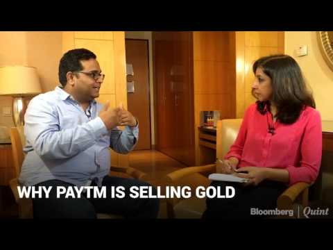 Why is Paytm Selling Gold?