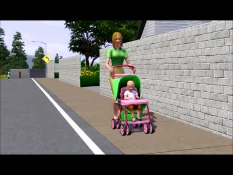 Stroller - The Sims 3 Generations