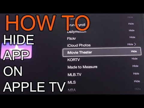 How To Hide Unwanted Application On Apple TV 2nd and 3rd generation