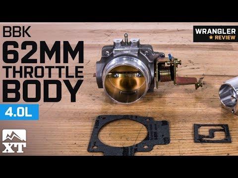 Jeep Wrangler BBK 62mm Throttle Body (2004-2006 4.0L TJ) Review