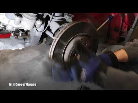 How To Remove Front Brake Rotor on Mini Cooper