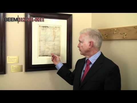2 Patents Signed by Historical American Leaders - Rich Beem and his Presidential Patent Collection