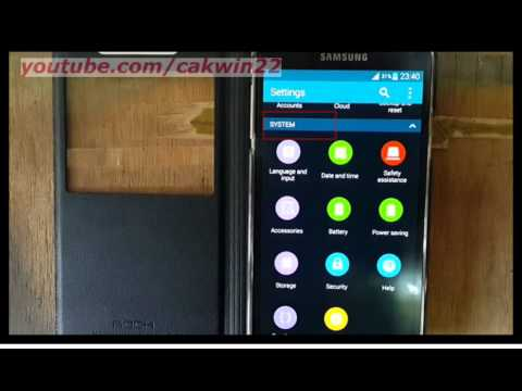 Samsung Galaxy S5 : How to check total space device and SD card (Android Phone)