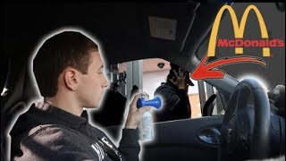 Drive Thru Air Horn Prank At Mcdonalds