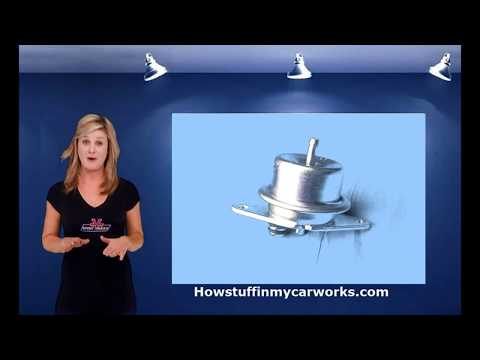 How fuel pressure regulator works by Howstuffinmycarworks