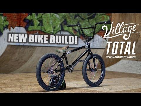 2017 TOTAL BMX BIKE BUILD!!