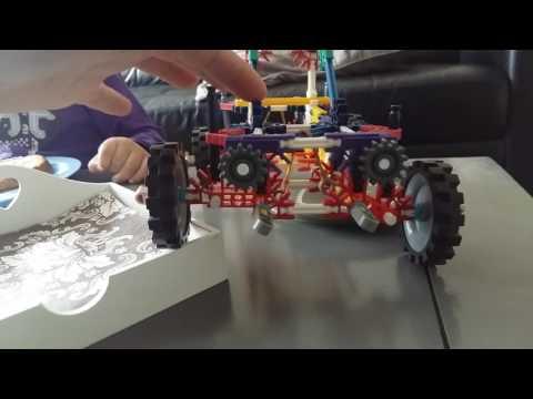 K'nex suspension race car
