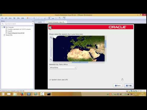 Oracle Linux installation on VM