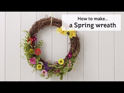 How to Make a Spring Wreath | Hobbycraft