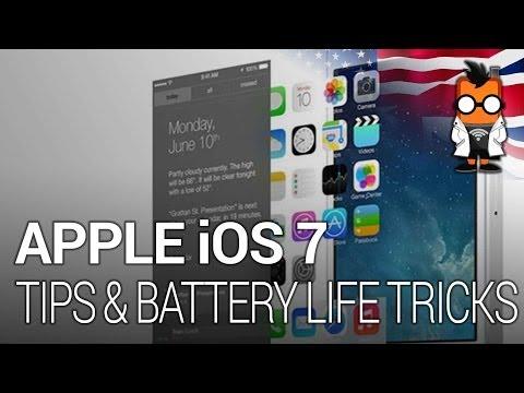 12 Apple iPad Mini Retina & iOS 7 Tips & Battery Life Tricks