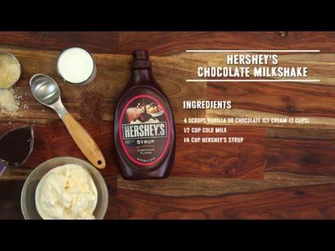 HERSHEY'S Chocolate Milkshake Recipe