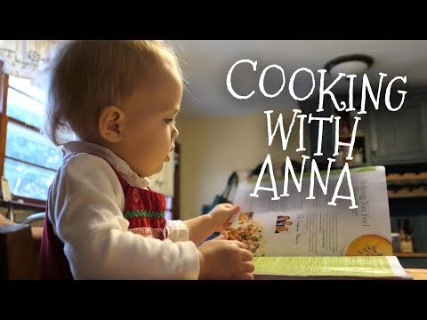 Anna's Cooking Show || Cooking with a Toddler