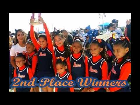 Eastside Miners Cheerleaders at West Texas Youth Football League Cheer Competition