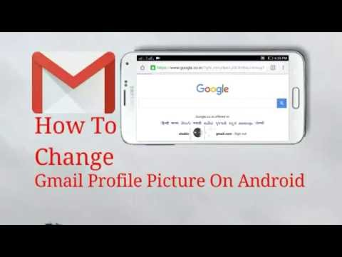 How To Change Gmail Profile Picture From Android Device