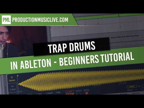 How to Make Trap Drums in Ableton [Beginners Tutorial]