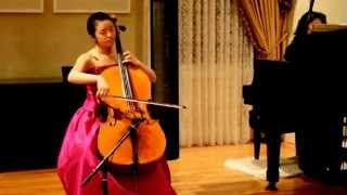 Kayla Kim Elgar Cello Concerto In E Minor Op.85, 2nd Movement