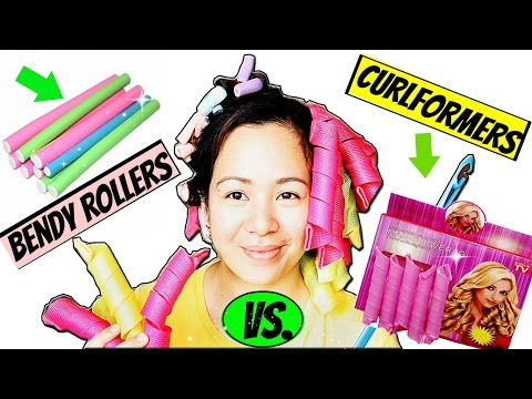 CURLFORMERS VS BENDY ROLLERS- Which Is BETTER? No Heat Summer Voluminous Waves-Beautyklove