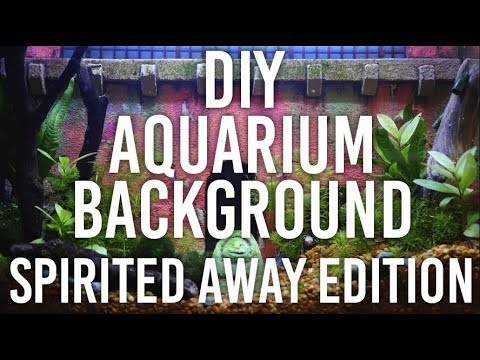 How to Make Aquarium Background - Spirited Away Edition : DIY