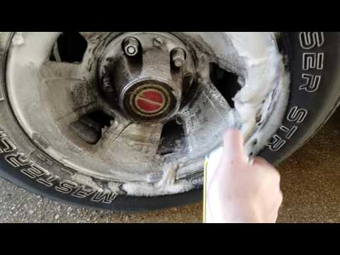 How To Clean Brake Dust And Road Grime Off Of Your RIms! (Will Also Shine Them Too)