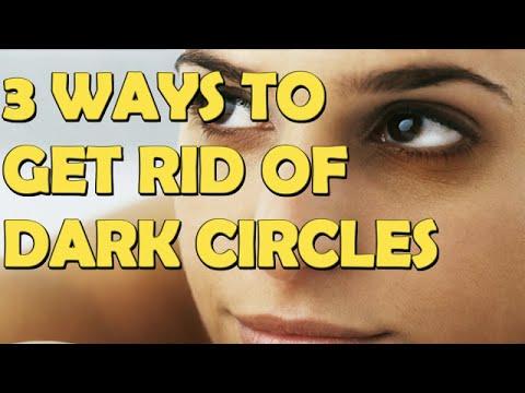 3 Ways to Get Rid of Dark Circles Under Eyes At Home Fast And Naturally