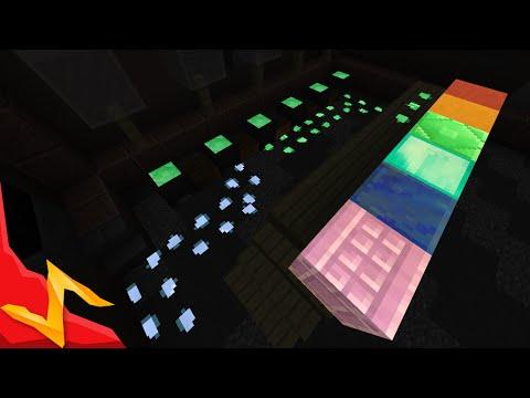 Minecraft - Glow-in-the-Dark Blocks